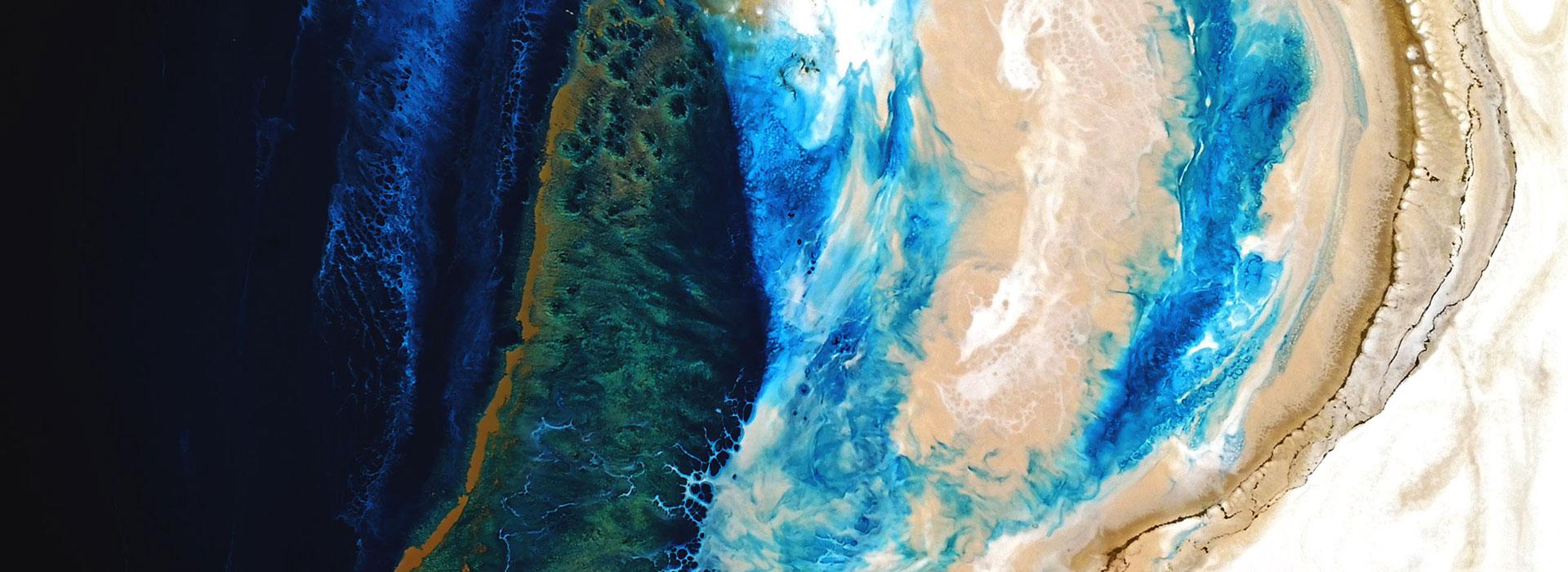 Marble waves