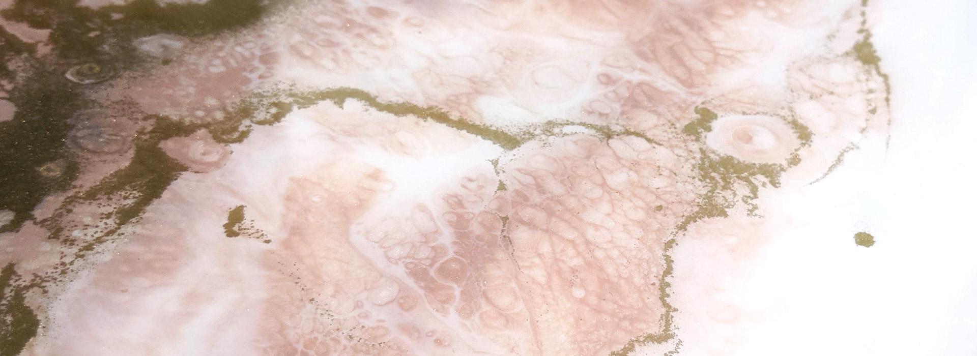 Plateau bois rose