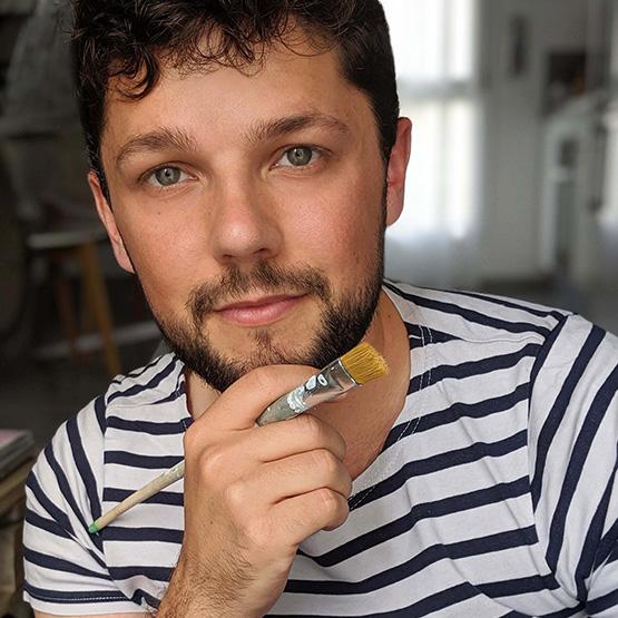 Victor Baroni, artiste résiniste Troyen