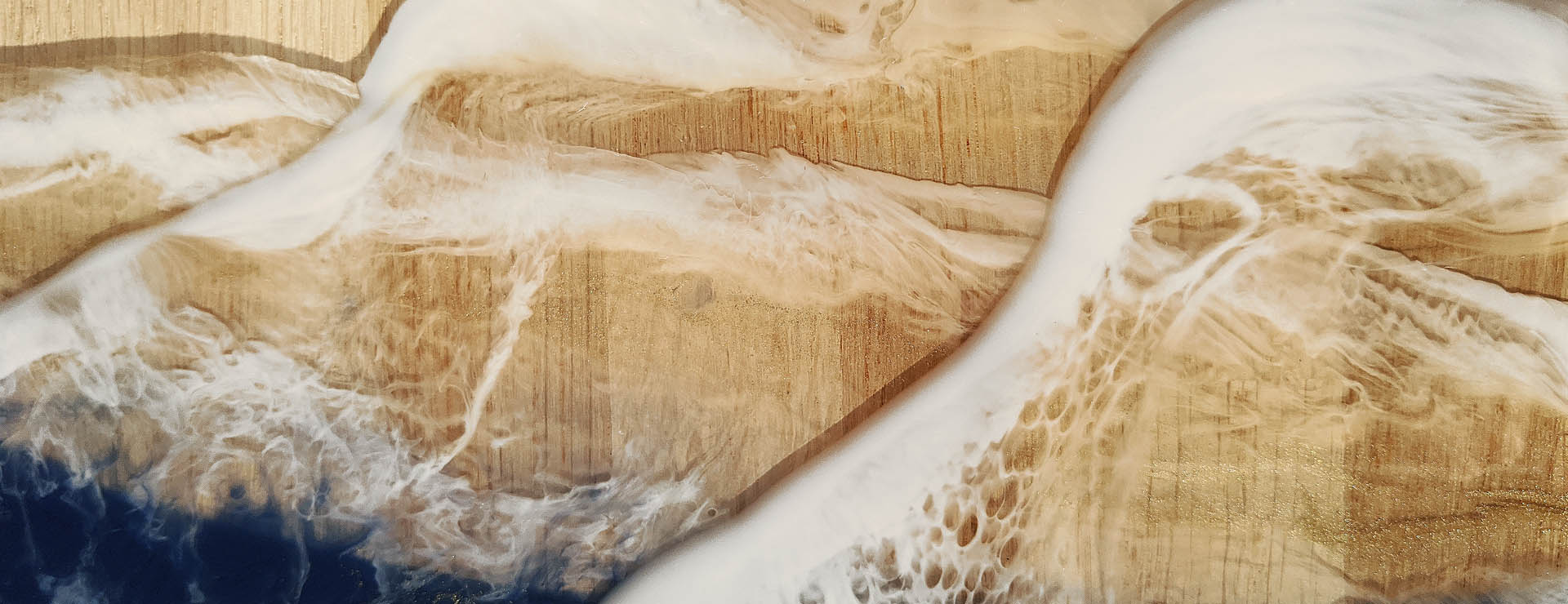 Plateau chêne vague